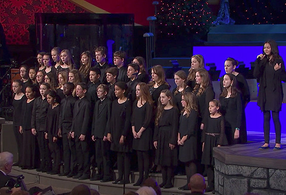 Shadow Mountain Student Choir Sings