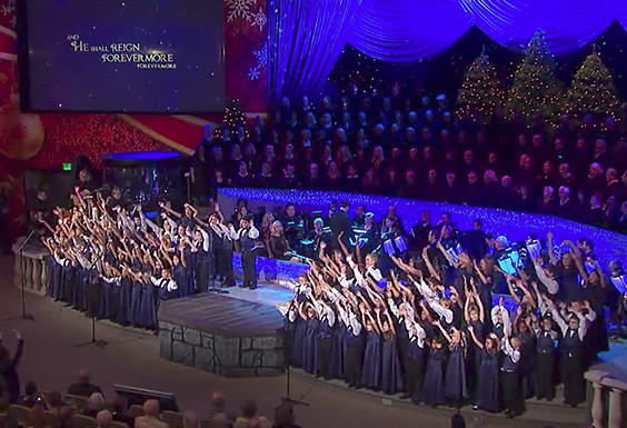 """He Shall Reign Forevermore"" by SMCC children's choir"
