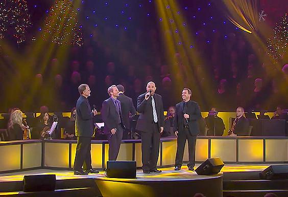 Rejoice with us—quartet style!