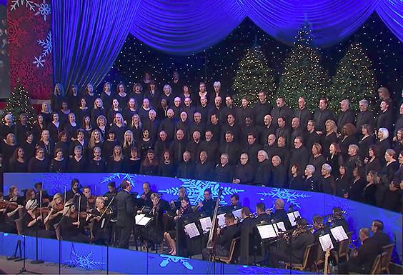 """""""O Come All Ye Faithful"""" SMCC choir"""