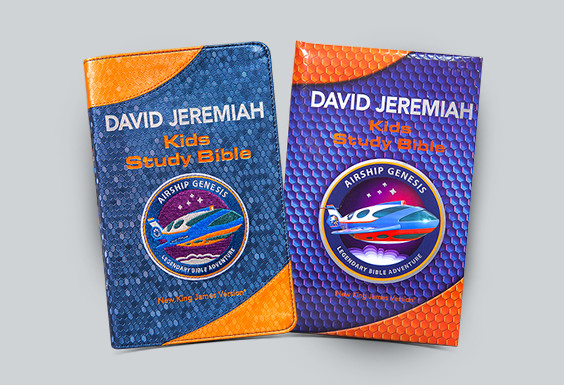 Airship Genesis: Legendary Bible Adventure Kids Study Bible
