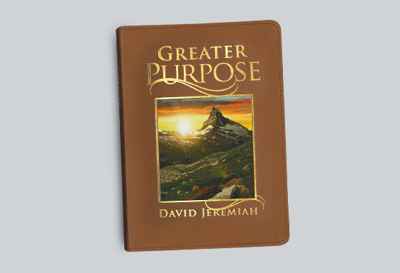 Greater Purpose 365-Day Leather Devotional