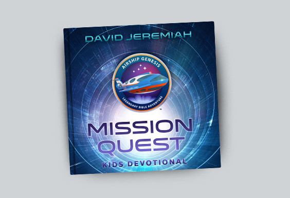 David Jeremiah's Mission Quest 52-Week Kids Devotional