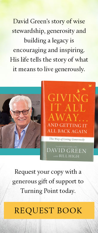 Giving It All Away, by David Green