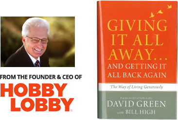 Giving It All Away...and Getting It All Back Again - by David Green