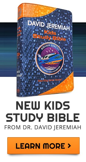 New Kids Study Bible from Dr. David Jeremiah - Learn More