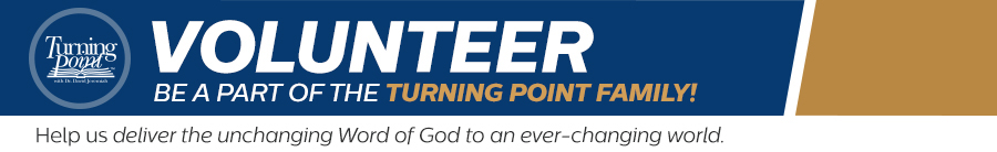 Volunteer - Be a part of the Turning Point Family!