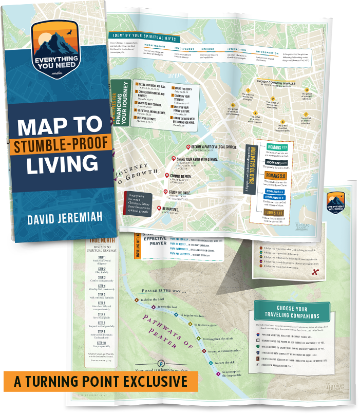 Map to Stumble-Proof Living - a Turning Point Exclusive!