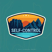 Navigation Scripture Card - Self-Control