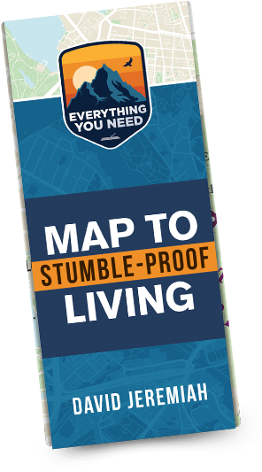 Map to Stumble-Proof Living, by David Jeremiah