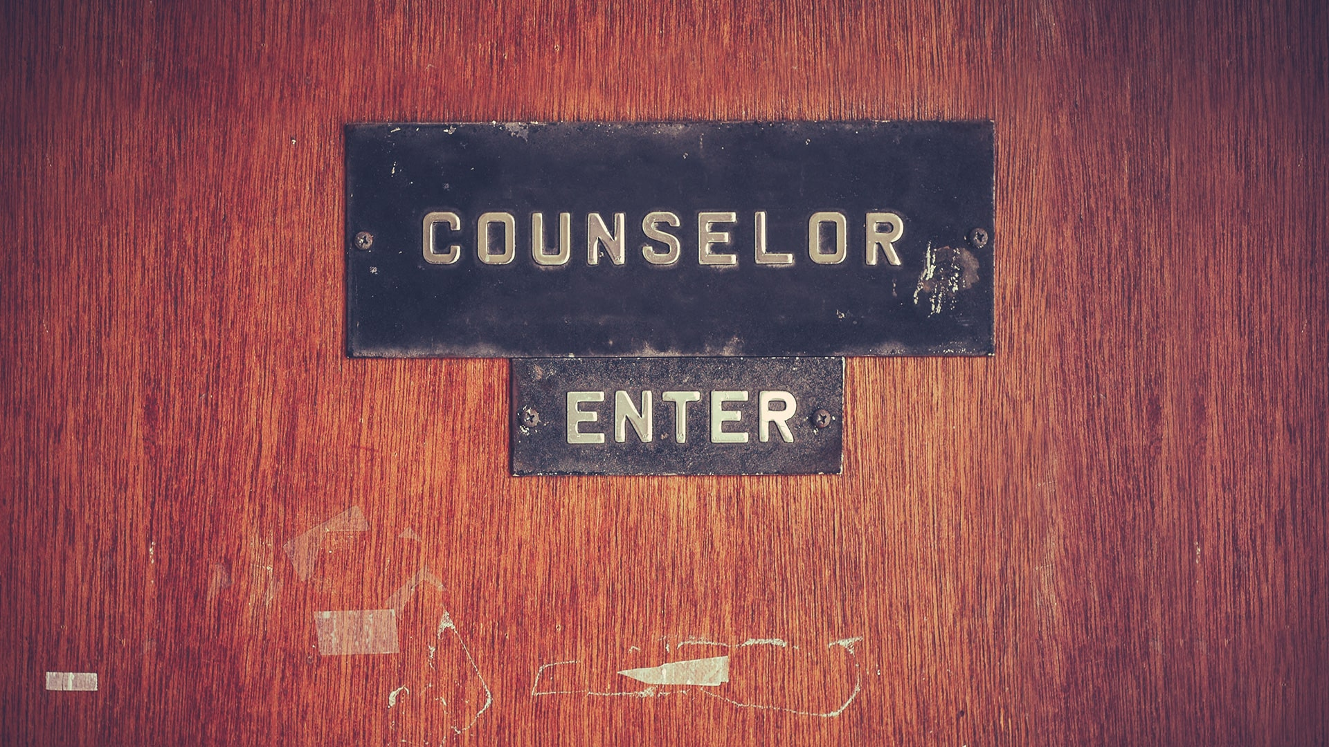 Free Counseling—Inquire Above