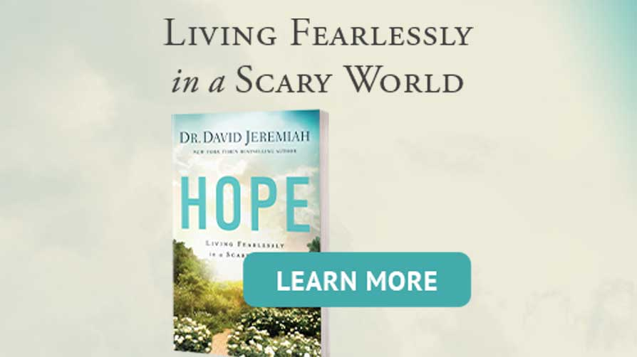 Living fearlessly in a scary world: Learn More
