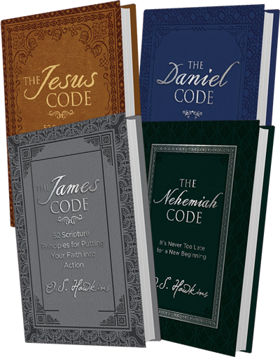 The Jesus Code, The Daniel Code, The James Code, and The Nehemiah Code Books