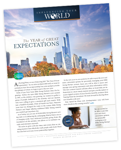 Influencing Your World Quarterly Newsletter
