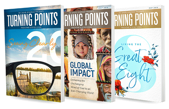 Request a subscription: Turning Points Magazine and Devotional
