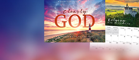The exclusive 2020 Turning Point calendar - Clearly God
