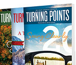 Turning Points Magazine and Devotional  3 Free Issues
