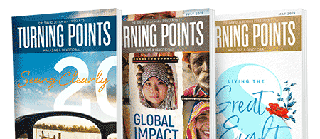 Turning Points Magazine & Devotional - Request a free subscription