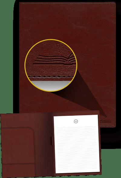 Turning Point Leather Padfolio