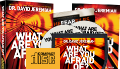 Request Your What Are You Afraid Of? CD Set with a gift of $60 or More