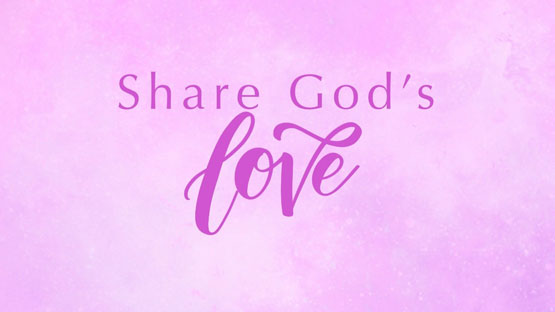 Be encouraged by God's love this Valentine's Day