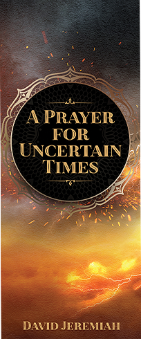 FREE A Prayer for Uncertain Times Bookmark  with your Handwriting on the Wall Book or Set