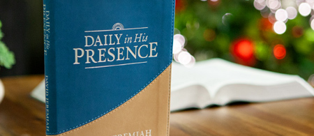 Daily in His Presence 2020 Devotional