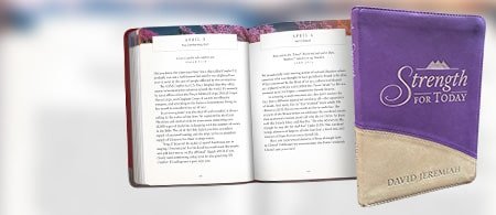 Strength for Today Devotional - New Purple Cover! Request Your Copy Today.