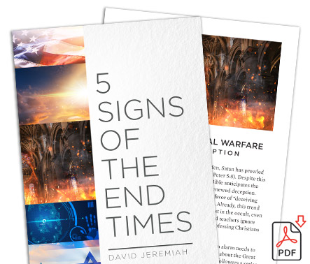 FREE for account holders! 5 Signs of the End Times