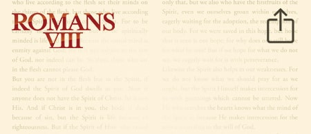 Who Needs to Hear the Message of Romans VIII? - Share This Series With a Friend