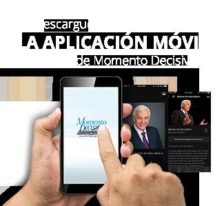 Descargue la aplicación móvil de Momento Decisivo