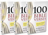 3-Pack, 100 Bible Verses Everyone Should Know By Heart