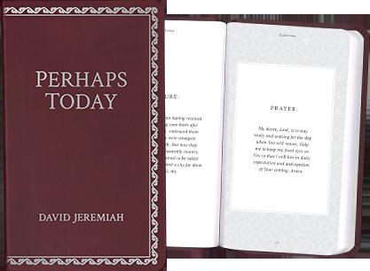 Perhaps Today Inspirational Prayer Book