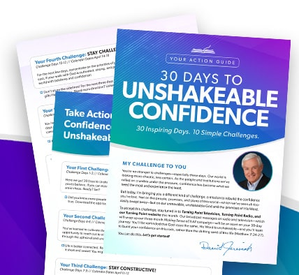 30 Day Unshakeable Confidence Challenge