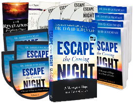 Request Dr. Jeremiah's complete Escape the Coming Night study set today!