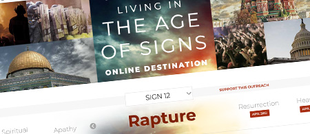 Living in the Age of Signs Online Destination