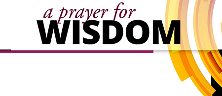 A Prayer for Wisdom Bookmark