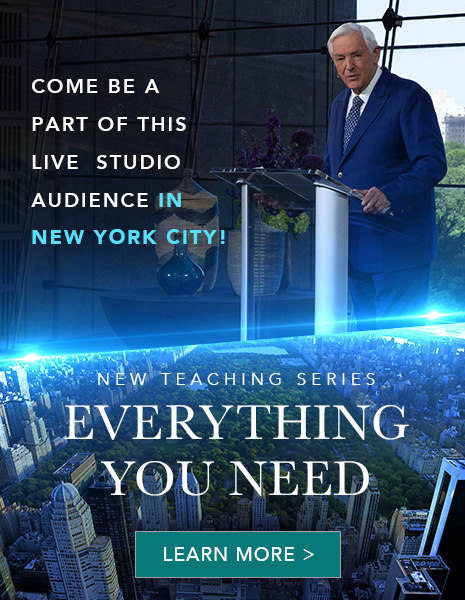 Come be a part of this live studio audience in New York City - New Teaching Series - Everything You Need - Learn More