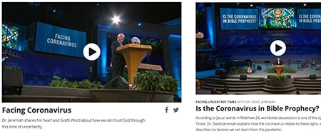 Facing the Coronavirus Together - Watch Timely Messages From Dr. Jeremiah