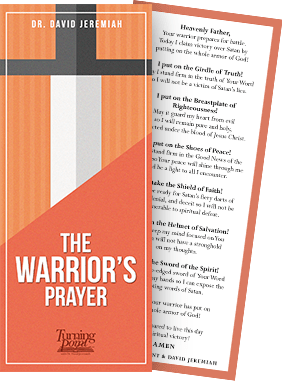 The Warrior's Prayer Bookmark
