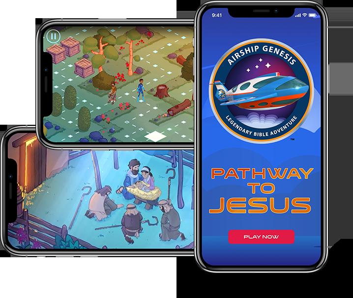 Pathway to Jesus - Airship Genesis Mobile App