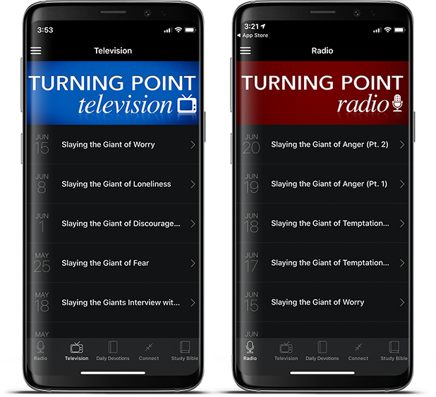 Turning Point Mobile App for Android and Kindle devices