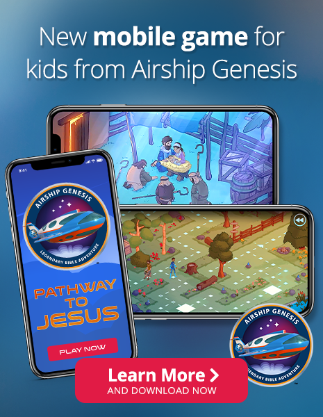New mobile game for kids from Airship Genesis - Learn More and Download Now