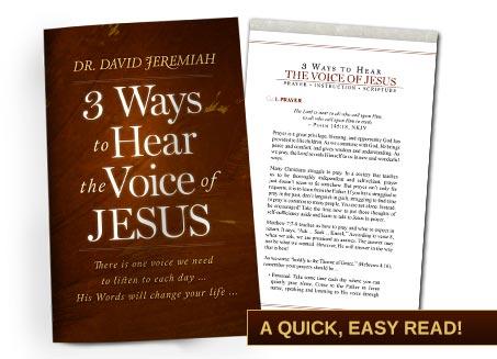 3 Ways to Hear the Voice of Jesus