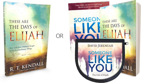 These are the Days of Elijah - OR - Someone Like You