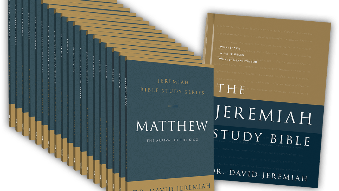 Request Your Jeremiah Bible Study Series