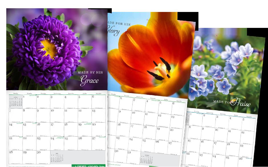 Stunningly Beautiful 14-month calendar