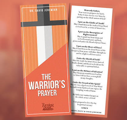 FREE Warriors Prayer Bookmark