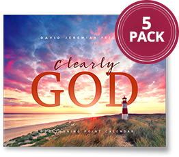 Clearly God 2020 Calendar 5-pack