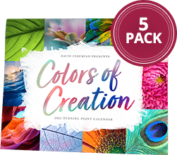 Colors of Creation 2021 Calendar 5-Pack, $100